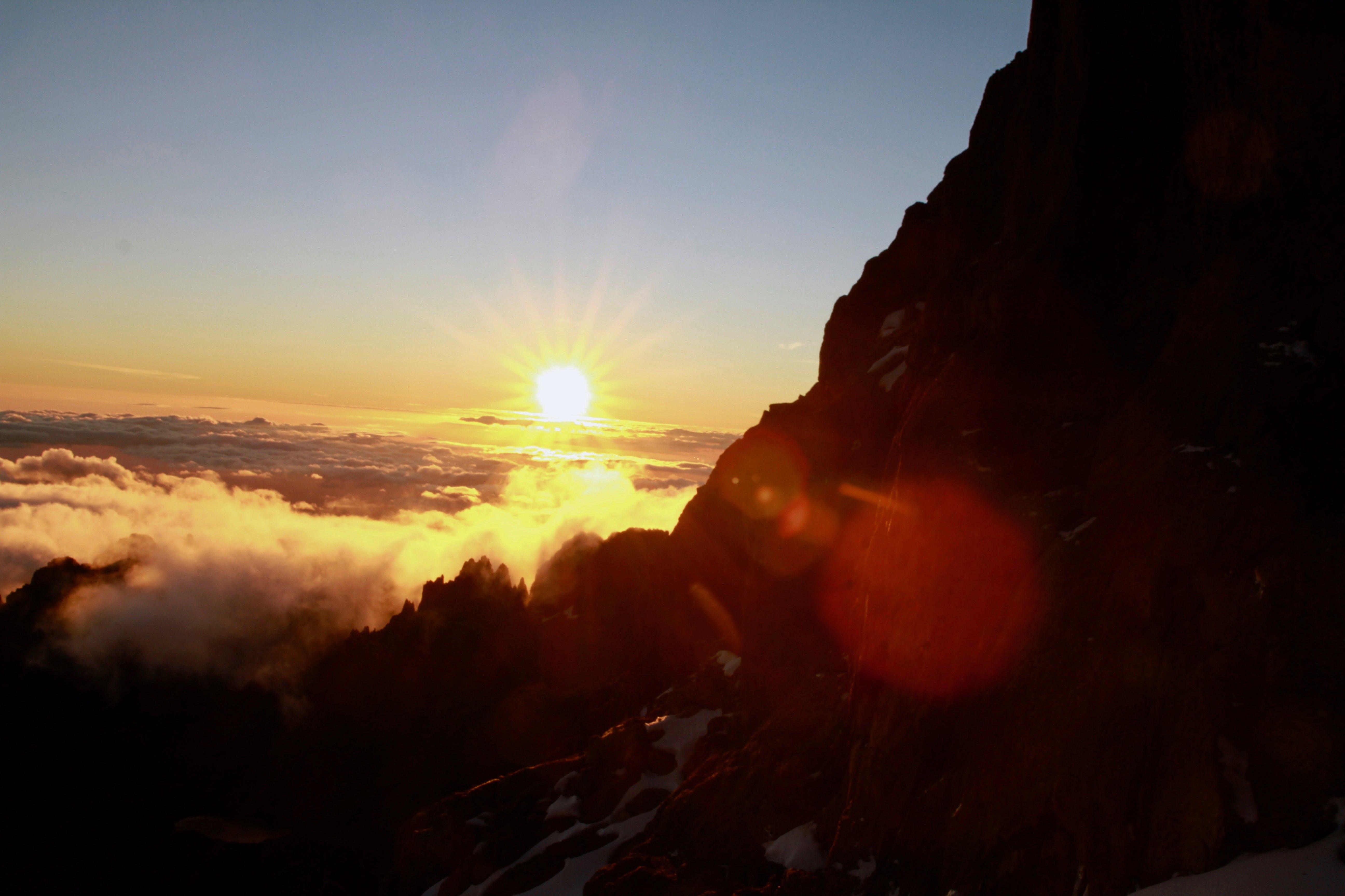 Pt Lenana Sunrise